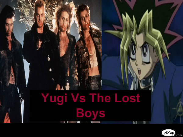 Yugi vs the lost Boys