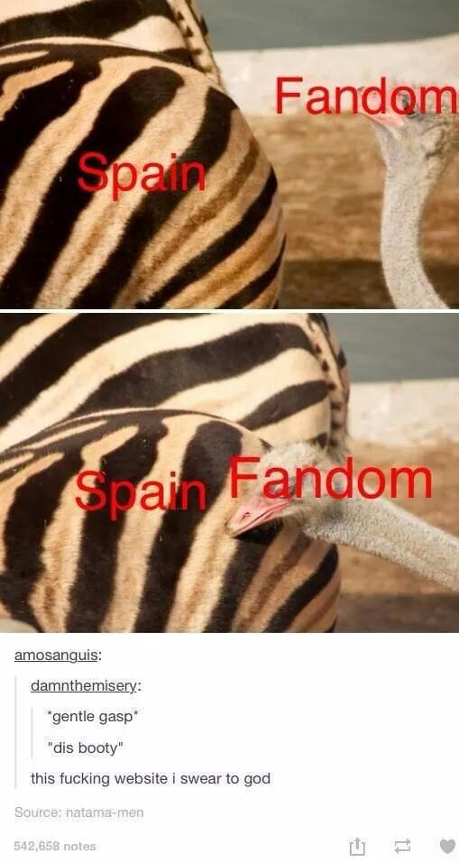 me with spains booty