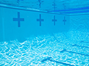 The Deep End Of The Swimming Pool
