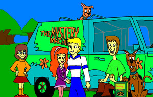 what_new_scooby_doo__shaggy_velma_and_fred_x_daphne with scrappy doo