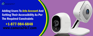 ☎ 18779846848 Arlo Tech Support & Know How To Allow Arlo Access To Users?