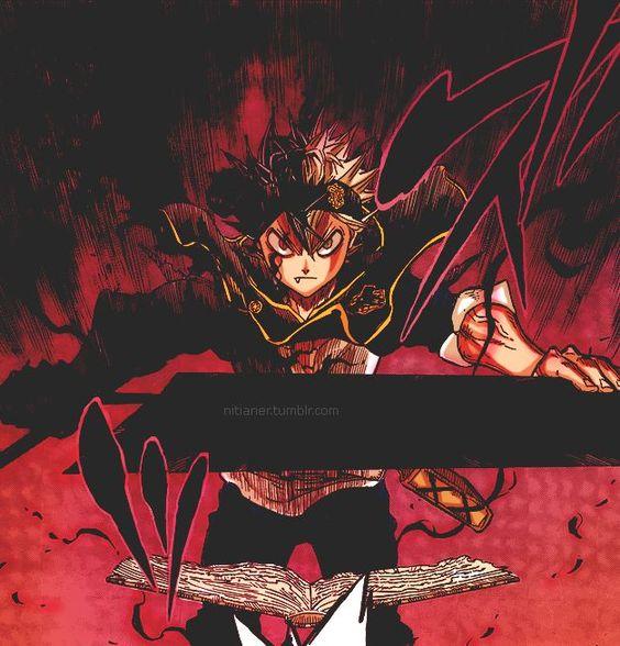 Asta Demon Form Black Clover Anime Photo 42931382 Fanpop