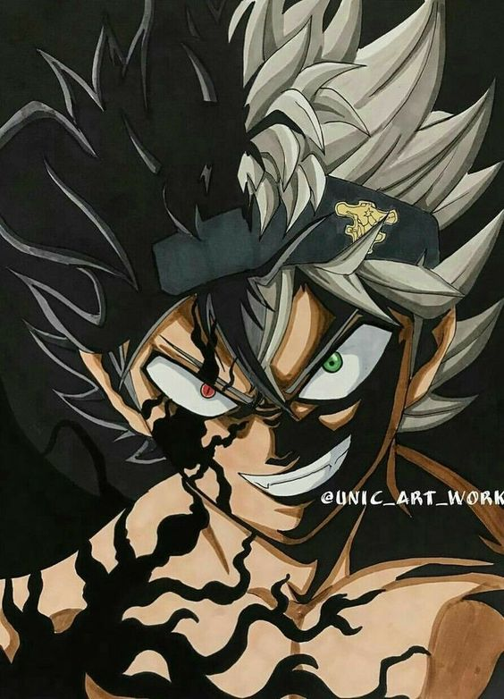 *Asta Demon Form: Black Clover*