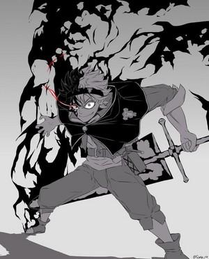 *Asta Demon Form: Black Clover*