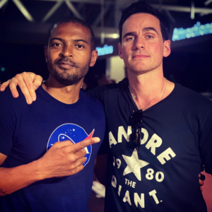 Colin O'Donoghue and Noel Clarke