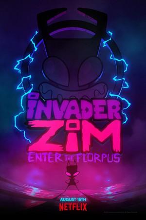 'Invader Zim: Enter The Florpus' Promotional Poster