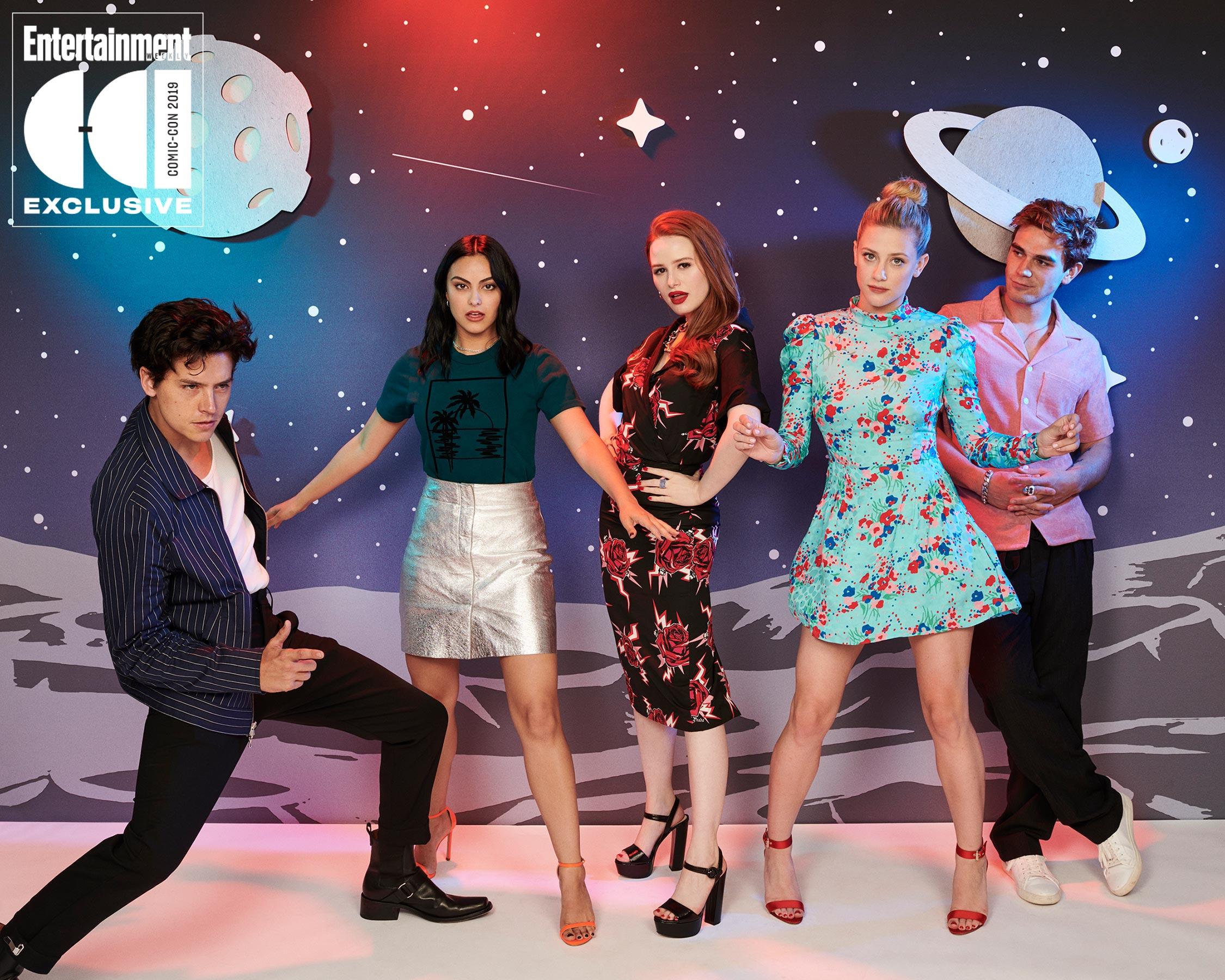 'Riverdale' Cast ~ Entertainment Weekly Comic Con Portrait