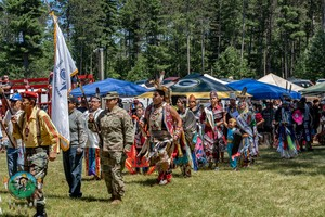 37th Annual くま, クマ River PowWow — in Lac du Flambeau, Wisconsin