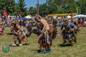 37th Annual برداشت, ریچھ River PowWow — in Lac du Flambeau, Wisconsin
