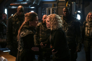 6x13 - The Blood of Sanctum - Niylah and Clarke