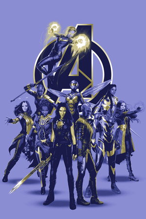 A-Force in new promotional art for Avengers Endgame
