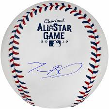 A Vintage Autographed 2019 All-Star Baseball