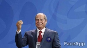 ABDELFATTAH ELSISI GETTING OLD IN 2030