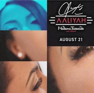 aaliyah - Madame Tussauds - August 21st, 2019! <3