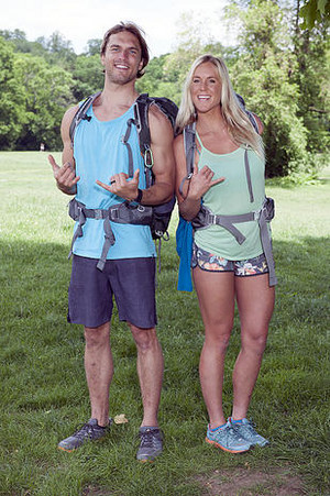 Adam Dirks and Bethany Hamilton-Dirks (The Amazing Race 25)