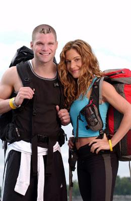 Adam Malis and Rebecca Cardon (The Amazing Race 6)
