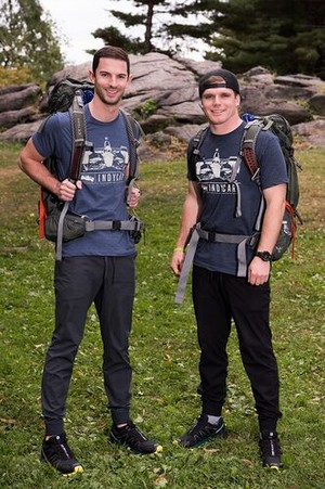 """Alexander """"Alex"""" Rossi and Conor Daly (The Amazing Race 30)"""