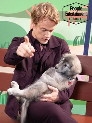 Alfie Allen - TIFF perrito, cachorro Portrait por Entertainment Weekly - 2019