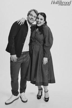 Alfie Allen and Beanie Feldstein - TIFF Portrait por The Hollywood Reporter - 2019