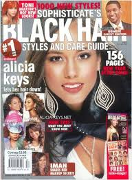 Alicia Keys On The Cover Of Black Hair