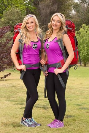 "Allison ""Ally"" Mello and Ashley Covert (The Amazing Race 23)"