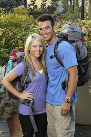 Amanda Blackledge and Kris Klicka (The Amazing Race: Unfinished Business)
