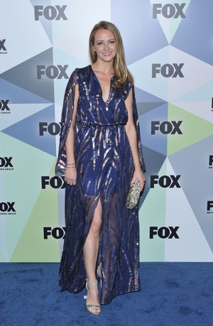 Amy Acker at the fox, mbweha UpFront 2018