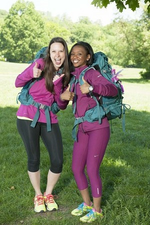 Amy DeJong and Maya Warren (The Amazing Race 25)