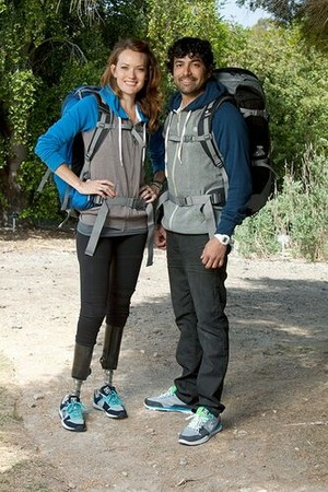 Amy Purdy and Daniel Gale (The Amazing Race 21)