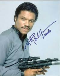 An Autographec foto Of Billy Dee Williams
