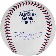 An Autographed 2019 All-Star Baseball