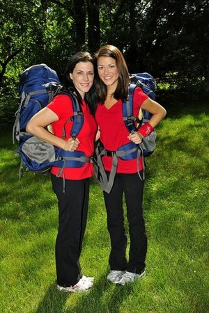 Andie DeKroon and Jenna Sykes (The Amazing Race 17)