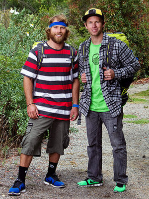 """Andrew """"Andy"""" finch and Tommy Czeschin (The Amazing Race 19)"""