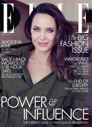 Angelina Jolie ~ Elle ~ September 2019
