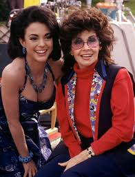 Annette Funnicello And Eva LaRue