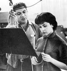 Annette Funnicello In The Recording Studio