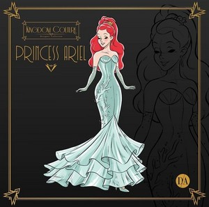 disney Princess fan Art - Princess Ariel