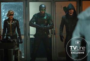 Arrow 8x01 TVLine Exclusive Promotional Image