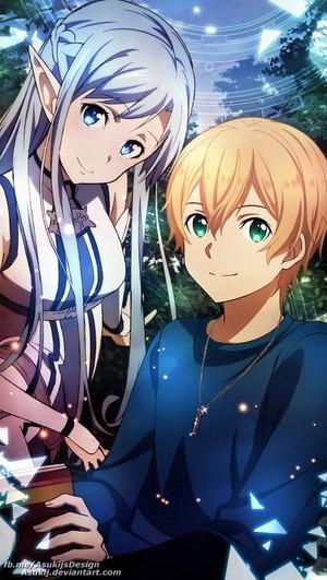 Asuna and Yujio