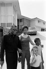 At Home With Ray Charles And His Family