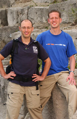 "Avi Schneier and Joseph ""Joe"" Rashbaum (The Amazing Race 6)"