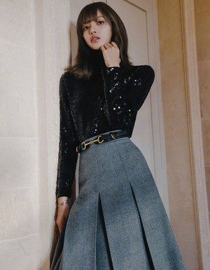 BLACKPINK Lisa for SuperELLE China Magazine Fall 2019 Issue