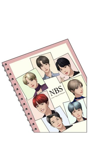 "BTS appears on Webtoon ""True Beauty"""