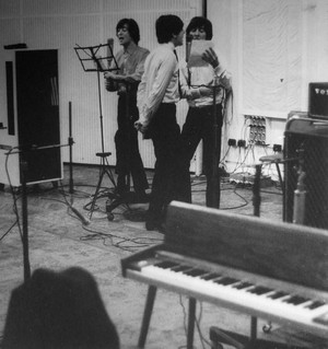 Beatles in the studio