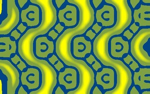 Beautiful fabric art