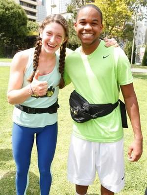 Becca Droz and Floyd Pierce (The Amazing Race 29)