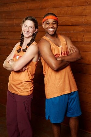 Becca Droz and Floyd Pierce (The Amazing Race 31)