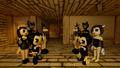 Bendy Meets Kitty's Workshop - lewisfan2004m fan art