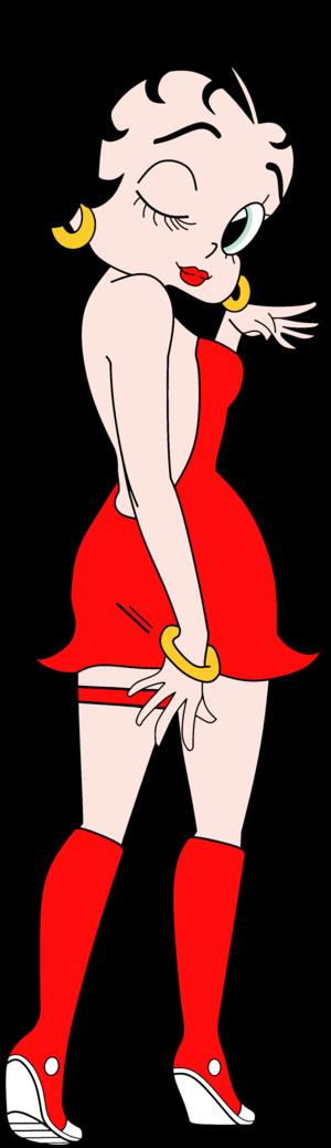 Betty Boop anime Render.5