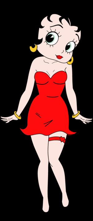 Betty Boop Anime Render 8
